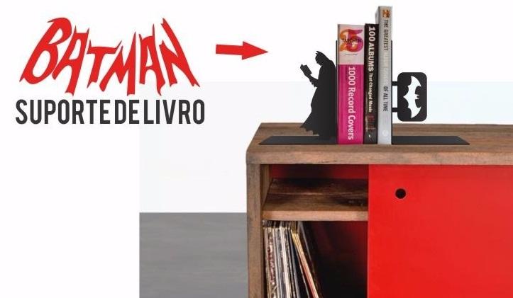 APARADOR DE LIVROS BATMAN - MDF