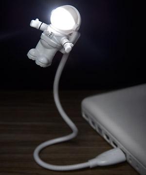 ASTRONAUTA - LUMINÁRIA LED USB